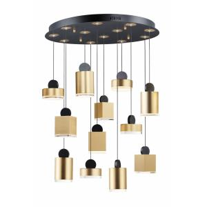 Nob-78W 1 LED Pendant-26.5 Inches wide by 7.5 inches high
