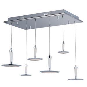 Hilite - 22.5 Inch 69.6W 6 LED Pendant