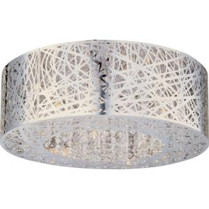 Inca - 9 Light Flush Mount