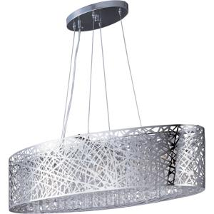 Inca-9 Light Pendant in Contemporary style-12 Inches wide by 10 inches high