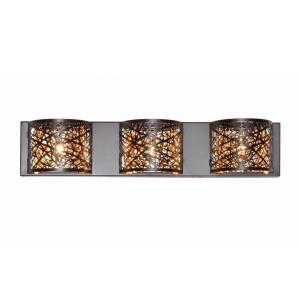 Inca-8.7W 3 LED Wall Mount in Contemporary style-4.25 Inches wide by 5 inches high