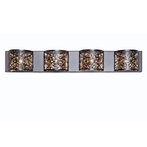 Inca-11.6W 4 LED Wall Mount in Contemporary style-4.25 Inches wide by 5 inches high