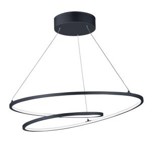 Cycle - 24.5 Inch 77W 1 LED Pendant