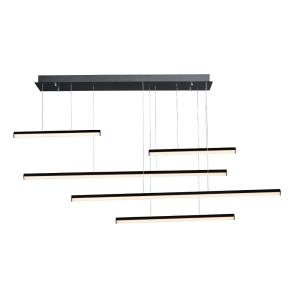 Hover-340W 5 LED Pendant-61 Inches wide by 11.75 inches high