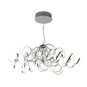Chaos-130W 1 LED Pendant-40 Inches wide by 13 inches high