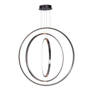 Brim-183W 3 LED Pendant-31.5 Inches wide by 47.5 inches high