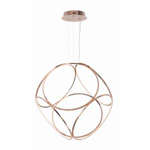 Form-97W 1 LED X--Large Pendant-45.25 Inches wide by 44.5 inches high