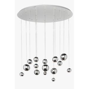 Bollero-45W 3 LED Pendant in Contemporary style-20 Inches wide by 5 inches high
