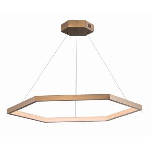 Hex - 39.5 Inch 50W 1 LED Pendant