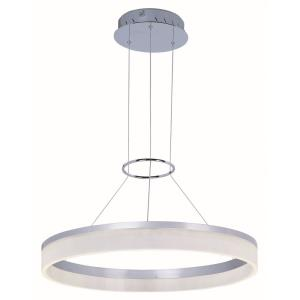 Saturn-28W 1 LED Pendant in Modern style-23.75 Inches wide by 2.75 inches high