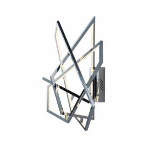 Trapezoid - 26.5 Inch 45W 1 LED Wall Sconce