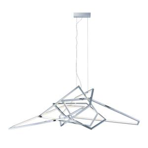 Trapezoid-100W 1 LED Pendant-65.75 Inches wide by 24 inches high