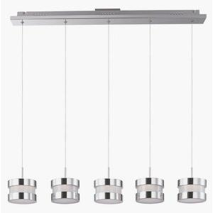 Disco - 38 Inch 24W 5 LED Linear Round Pendant