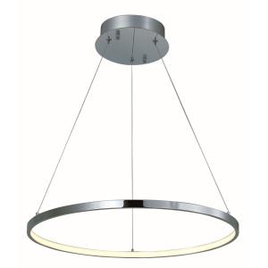 Hoops-13.3W 1 LED Pendant-23.5 Inches wide by 1.25 inches high