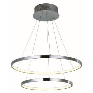 Hoops-46W 2 LED Pendant-23.5 Inches wide by 1.25 inches high