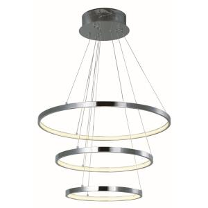 Hoops-30.6W 1 LED Pendant-23.5 Inches wide by 1.25 inches high