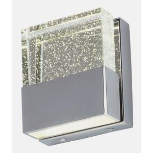 Fizz III 2 Light Contemporary Square Bath Vanity Approved for Damp Locations