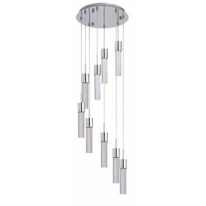 Fizz IV-67.5W 9 LED Pendant in Mediterranean style-16 Inches wide by 14 inches high