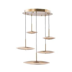 Cymbals - 27 Inch 70W 5 LED Pendant