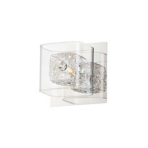 Gem - 1 Light Bath Vanity - 5.25 Inches wide by 5.25 inches high