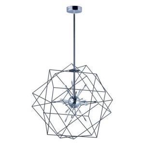 """Rubic - 33.5"""" 28.8W 24W LED Pendant"""
