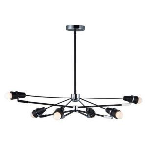 "Bounce - 35.5"" 48W 6 LED Pendant"