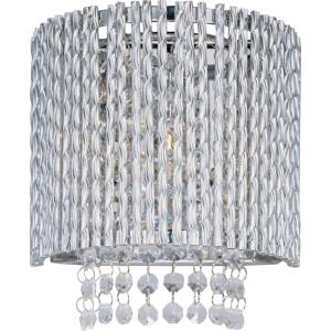 Spiral-1 Light Wall Sconce in Mediterranean style-7.5 Inches wide by 8.25 inches high