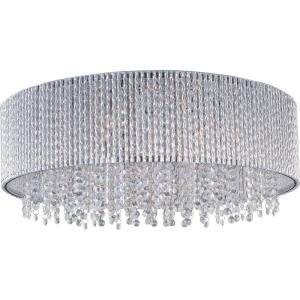 Spiral-10 Light Flush Mount in Mediterranean style-22 Inches wide by 9 inches high