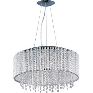 Spiral-10 Light Pendant in Mediterranean style-22.5 Inches wide by 10.75 inches high
