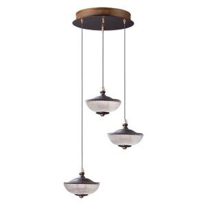 "Bella - 14.75"" 12W 3 LED Pendant"