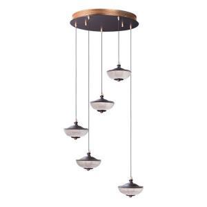 Bella - 19.75 Inch 20W 5 LED Pendant