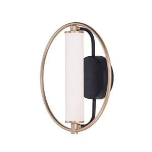 Flare-8.4W 1 LED Wall Sconce-11.75 Inches wide by 12 inches high
