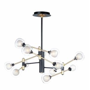 Parallel - 48W 12 LED Pendant in Modern style - 43.25 Inches wide by 19.5 inches high