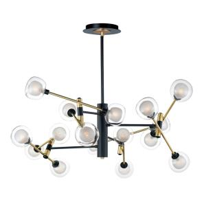 Parallel - 49.25 Inch 64W 16 LED Pendant