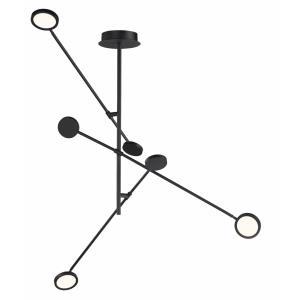 Paddle - 58.25 Inch 21W 3 LED Semi-Flush Mount