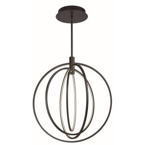 Concentric-320W 4 LED Pendant-27 Inches wide by 30 inches high