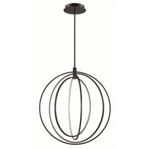 Concentric-400W 4 LED Pendant-36 Inches wide by 39 inches high