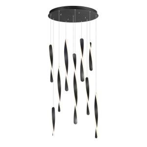 Pirouette - 1200W 10 LED Pendant - 24 Inches wide by 32 inches high