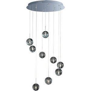 Orb - Nine Light Pendant