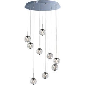 Orb - 9 Light Pendant