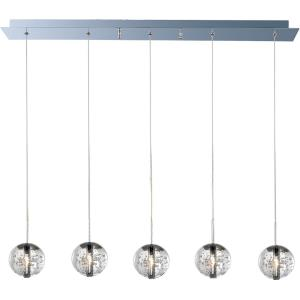 Orb-5 Light Pendant in European style-4 Inches wide by 4 inches high