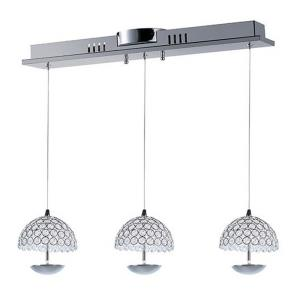 Parasol-12W 3 LED Pendant-26 Inches wide by 6.5 inches high