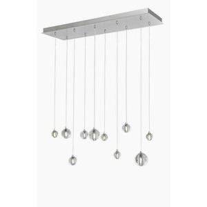 Harmony - 33 Inch 15W 10 LED Linear Round Pendant
