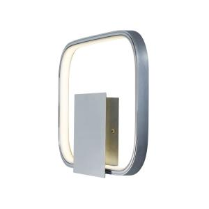 Squared-7.2W 1 LED Wall Sconce-13.75 Inches wide by 10 inches high
