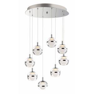 "Swank - 19"" 48W 8 LED Pendant"