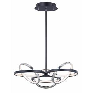 Gyro II-438W 6 LED Pendant-26 Inches wide by 9 inches high