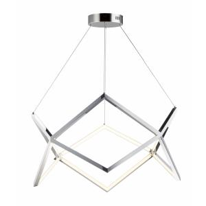 Victory-50W 1 LED Pendant-31.5 Inches wide by 15.75 inches high