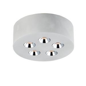 Peg - 7.25 Inch 15W 5 LED Flush Mount