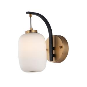 Soji - 4W 1 LED Wall sconce - 4.75 Inches wide by 10.25 inches high