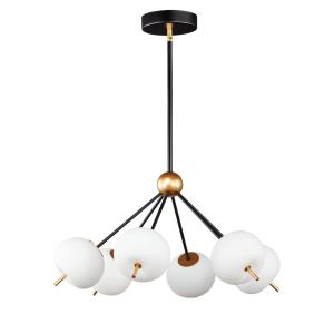 Quest - 36W 6 LED Pendant in Contemporary style - 26.5 Inches wide by 14.75 inches high